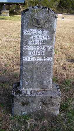 HAUGH, ARLET - Baxter County, Arkansas | ARLET HAUGH - Arkansas Gravestone Photos