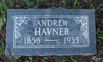 HAVNER, ANDREW - Baxter County, Arkansas | ANDREW HAVNER - Arkansas Gravestone Photos
