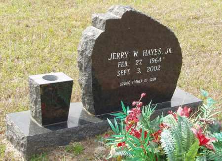 HAYES, JR., JERRY W. - Baxter County, Arkansas | JERRY W. HAYES, JR. - Arkansas Gravestone Photos