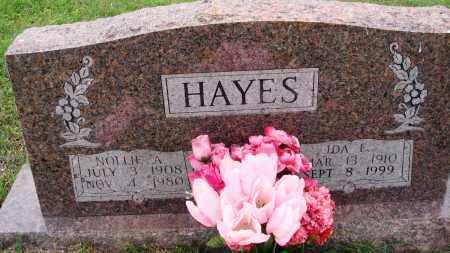 HAYES, IDA E - Baxter County, Arkansas | IDA E HAYES - Arkansas Gravestone Photos