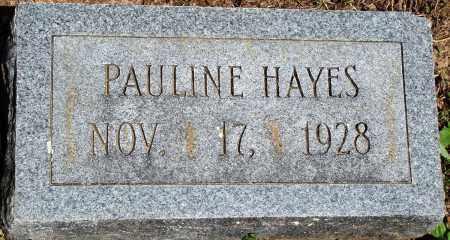 HAYES, PAULINE - Baxter County, Arkansas | PAULINE HAYES - Arkansas Gravestone Photos