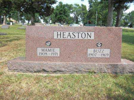 HEASTON, MAMIE - Baxter County, Arkansas | MAMIE HEASTON - Arkansas Gravestone Photos