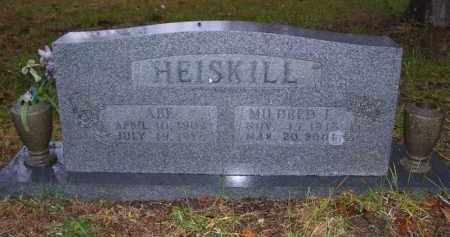 HEISKILL, ABE - Baxter County, Arkansas   ABE HEISKILL - Arkansas Gravestone Photos