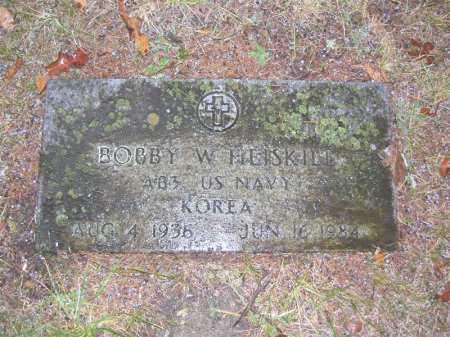 HEISKILL (VETERAN KOR), BOBBY WAYNE - Baxter County, Arkansas | BOBBY WAYNE HEISKILL (VETERAN KOR) - Arkansas Gravestone Photos