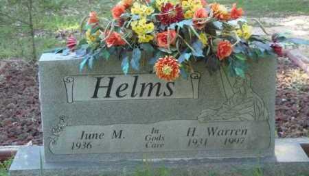 HELMS, JR, HUBERT WARREN - Baxter County, Arkansas | HUBERT WARREN HELMS, JR - Arkansas Gravestone Photos