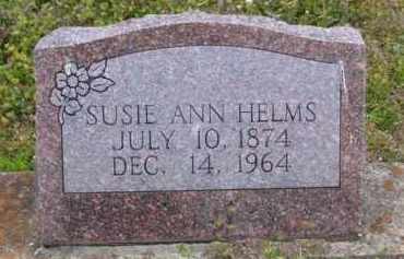 HELMS, SUSIE ANN - Baxter County, Arkansas | SUSIE ANN HELMS - Arkansas Gravestone Photos