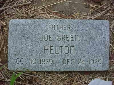 HELTON, JOE GREEN - Baxter County, Arkansas | JOE GREEN HELTON - Arkansas Gravestone Photos