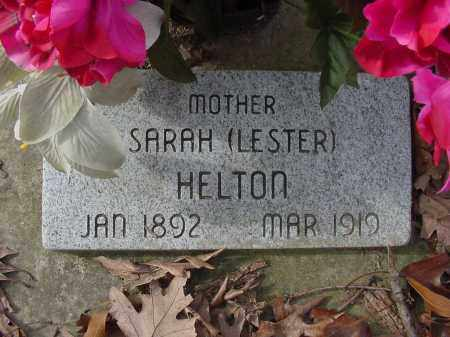 LESTER HELTON, SARAH - Baxter County, Arkansas | SARAH LESTER HELTON - Arkansas Gravestone Photos