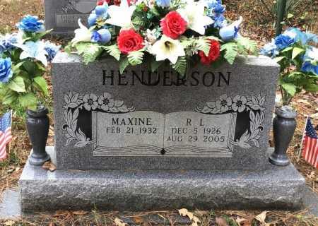 HENDERSON (VETERAN), R. L. - Baxter County, Arkansas | R. L. HENDERSON (VETERAN) - Arkansas Gravestone Photos