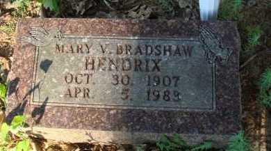 HENDRIX, MARY V. - Baxter County, Arkansas | MARY V. HENDRIX - Arkansas Gravestone Photos