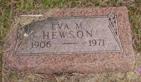 HEWSON, EVA M - Baxter County, Arkansas | EVA M HEWSON - Arkansas Gravestone Photos