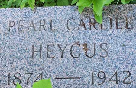 HEYCUS, PEARL - Baxter County, Arkansas | PEARL HEYCUS - Arkansas Gravestone Photos