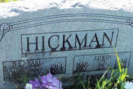 HICKMAN, EARL - Baxter County, Arkansas | EARL HICKMAN - Arkansas Gravestone Photos
