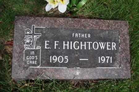 HIGHTOWER, E. F. - Baxter County, Arkansas | E. F. HIGHTOWER - Arkansas Gravestone Photos
