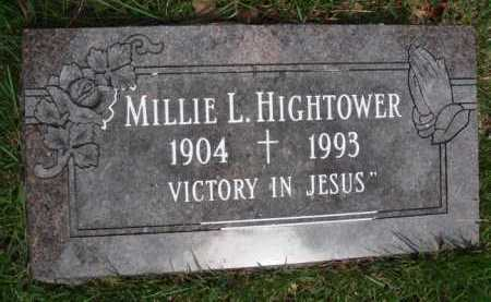 HIGHTOWER, MILLIE L. - Baxter County, Arkansas | MILLIE L. HIGHTOWER - Arkansas Gravestone Photos