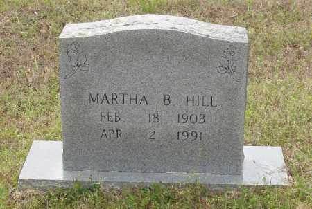 HILL, MARTHA B - Baxter County, Arkansas | MARTHA B HILL - Arkansas Gravestone Photos