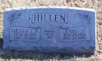 HILLEN, GENEICE B. - Baxter County, Arkansas | GENEICE B. HILLEN - Arkansas Gravestone Photos