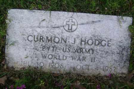 HODGE (VETERAN WWII), CURMON J. - Baxter County, Arkansas   CURMON J. HODGE (VETERAN WWII) - Arkansas Gravestone Photos