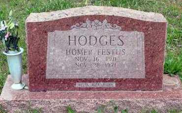 HODGES, HOMER FESTUS - Baxter County, Arkansas   HOMER FESTUS HODGES - Arkansas Gravestone Photos