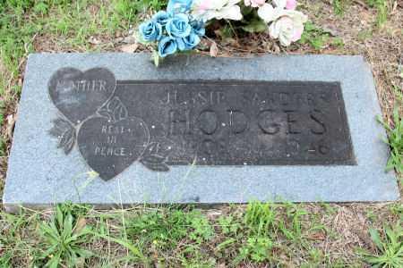 HODGES, JESSIE SANDERS - Baxter County, Arkansas | JESSIE SANDERS HODGES - Arkansas Gravestone Photos