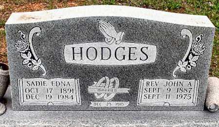 HODGES, SADIE EDNA - Baxter County, Arkansas   SADIE EDNA HODGES - Arkansas Gravestone Photos