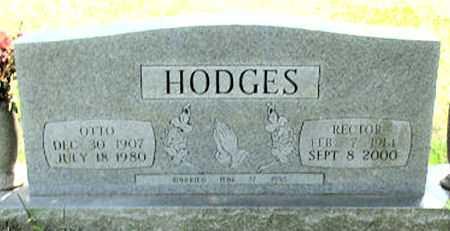 HODGES, RECTOR - Baxter County, Arkansas | RECTOR HODGES - Arkansas Gravestone Photos