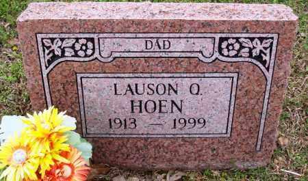 HOEN, LAUSON Q - Baxter County, Arkansas | LAUSON Q HOEN - Arkansas Gravestone Photos
