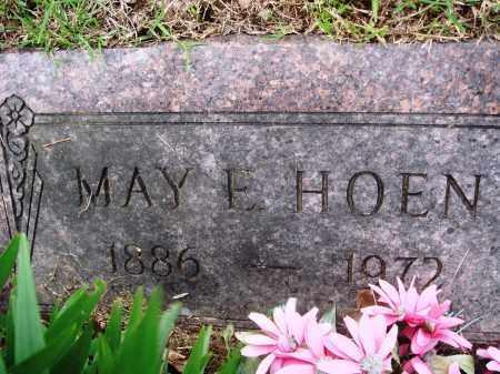 HOEN, MAY E - Baxter County, Arkansas | MAY E HOEN - Arkansas Gravestone Photos
