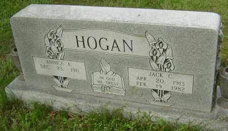 HOGAN, JACK C. - Baxter County, Arkansas | JACK C. HOGAN - Arkansas Gravestone Photos