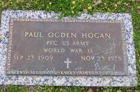 HOGAN (VETERAN WWI), PAUL OGDEN - Baxter County, Arkansas | PAUL OGDEN HOGAN (VETERAN WWI) - Arkansas Gravestone Photos