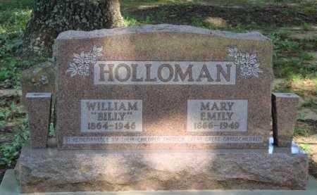HOLLOMAN, MARY EMILY - Baxter County, Arkansas | MARY EMILY HOLLOMAN - Arkansas Gravestone Photos