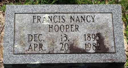 HOOPER, FRANCIS NANCY - Baxter County, Arkansas | FRANCIS NANCY HOOPER - Arkansas Gravestone Photos