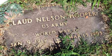 HOOPER (VETERAN WWII), CLAUD NELSON - Baxter County, Arkansas   CLAUD NELSON HOOPER (VETERAN WWII) - Arkansas Gravestone Photos