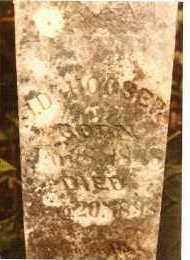 HOOSER, JAMES DAWSON - Baxter County, Arkansas   JAMES DAWSON HOOSER - Arkansas Gravestone Photos