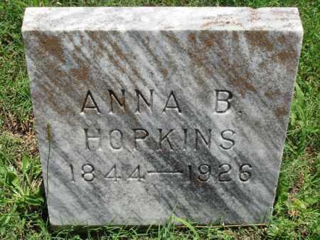 HOPKINS, ANNA B. - Baxter County, Arkansas | ANNA B. HOPKINS - Arkansas Gravestone Photos