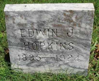 HOPKINS, EDWIN J. - Baxter County, Arkansas | EDWIN J. HOPKINS - Arkansas Gravestone Photos