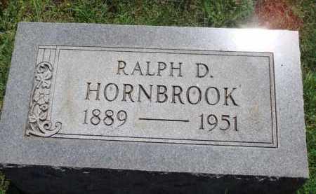 HORNBROOK, RALPH D. - Baxter County, Arkansas   RALPH D. HORNBROOK - Arkansas Gravestone Photos