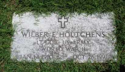 HOUTCHENS  (VETERAN WWII), WILBER F. - Baxter County, Arkansas | WILBER F. HOUTCHENS  (VETERAN WWII) - Arkansas Gravestone Photos