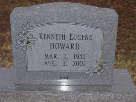 HOWARD, KENNETH EUGENE - Baxter County, Arkansas | KENNETH EUGENE HOWARD - Arkansas Gravestone Photos