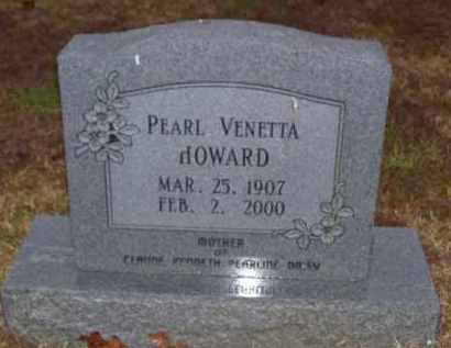 HOWARD, PEARL VENETTA - Baxter County, Arkansas   PEARL VENETTA HOWARD - Arkansas Gravestone Photos