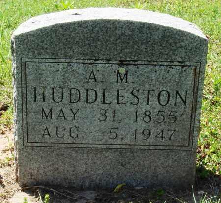 HUDDLESTON, A M - Baxter County, Arkansas | A M HUDDLESTON - Arkansas Gravestone Photos