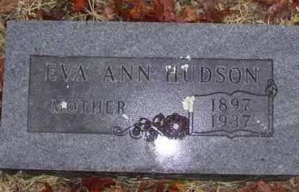 BEAVERS HUDSON, EVA ANN - Baxter County, Arkansas | EVA ANN BEAVERS HUDSON - Arkansas Gravestone Photos
