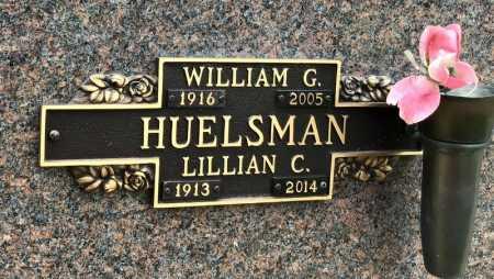 HUELSMAN, WILLIAM G. - Baxter County, Arkansas | WILLIAM G. HUELSMAN - Arkansas Gravestone Photos