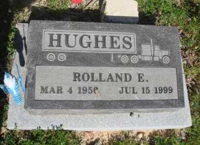 HUGHES, ROLLAND E. - Baxter County, Arkansas | ROLLAND E. HUGHES - Arkansas Gravestone Photos