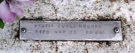 EVANS HUGHES, VESTIA - Baxter County, Arkansas | VESTIA EVANS HUGHES - Arkansas Gravestone Photos