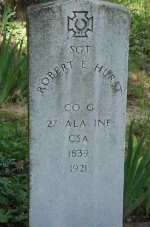 HURST  (VETERAN CSA), ROBERT E. - Baxter County, Arkansas | ROBERT E. HURST  (VETERAN CSA) - Arkansas Gravestone Photos
