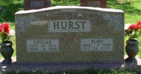 HURST, ELMO - Baxter County, Arkansas | ELMO HURST - Arkansas Gravestone Photos