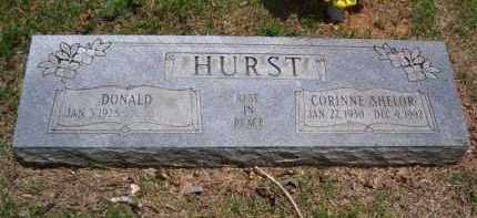 HURST, WANDA CORINNE - Baxter County, Arkansas | WANDA CORINNE HURST - Arkansas Gravestone Photos