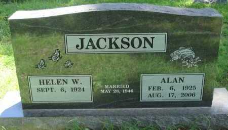 JACKSON, ALAN - Baxter County, Arkansas | ALAN JACKSON - Arkansas Gravestone Photos