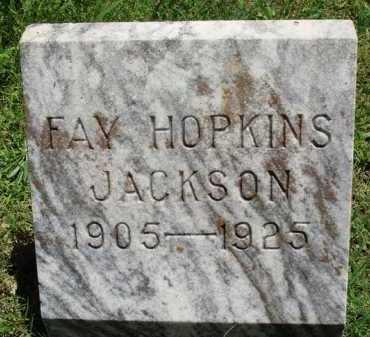 JACKSON HOPKINS, FAY - Baxter County, Arkansas | FAY JACKSON HOPKINS - Arkansas Gravestone Photos
